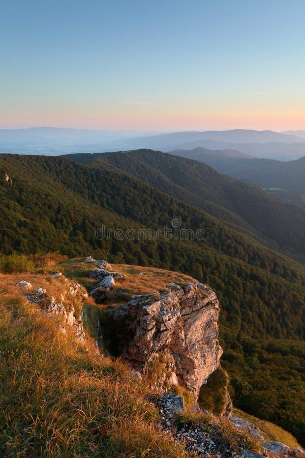 Natura e montagna della Slovacchia fotografia stock libera da diritti