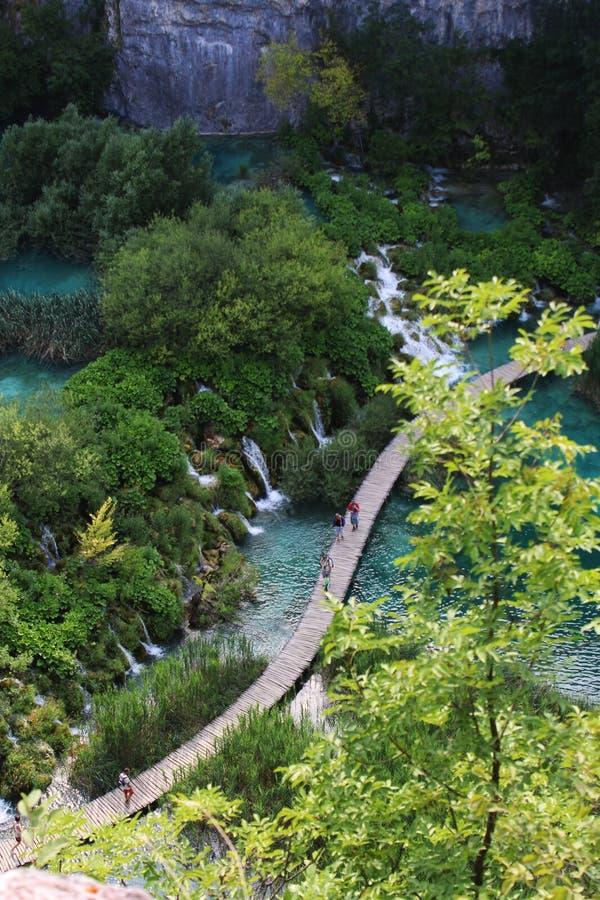 Natura e paesaggi della Croazia Viaggio di Europa wanderlust immagini stock libere da diritti