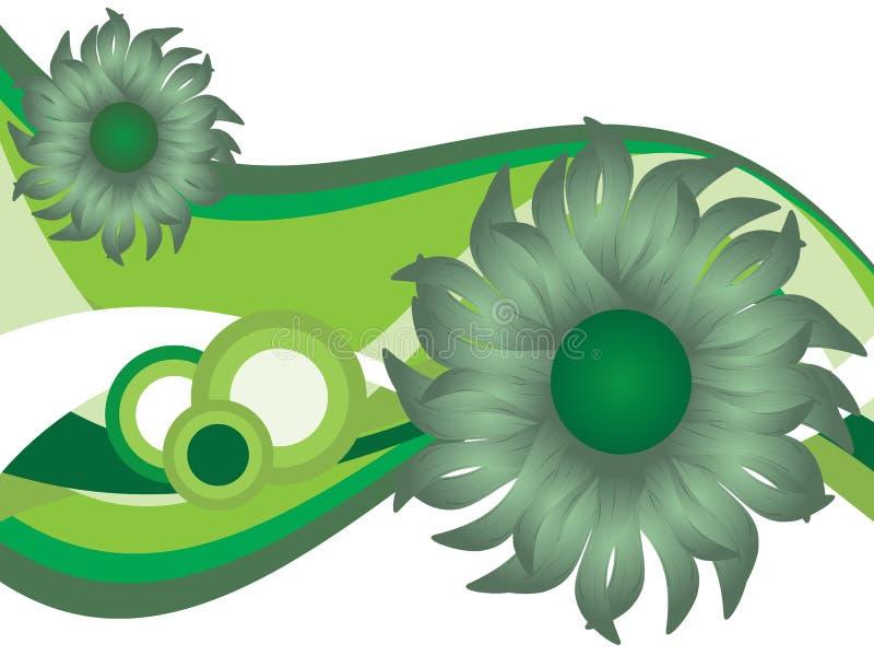 Natura floreale astratta royalty illustrazione gratis