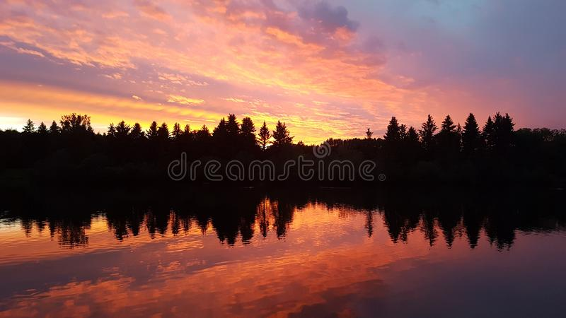 Natura jest pięknym kanwą zdjęcie royalty free