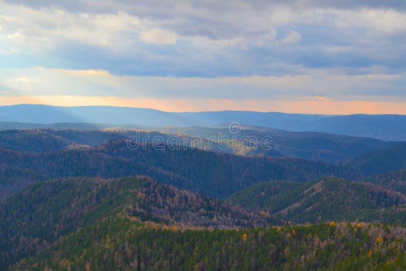 Natura Krasnoyarsk region 2 obrazy stock