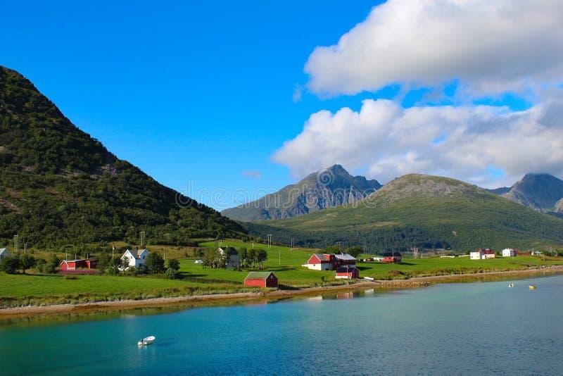 Natura in Lofoten fotografia stock libera da diritti