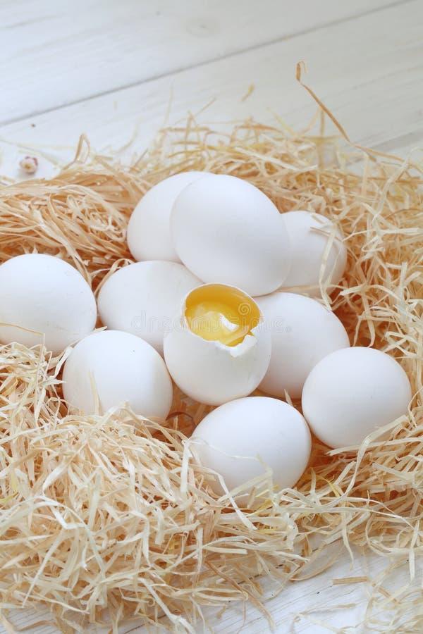 Natura morta delle uova di Pasqua immagine stock