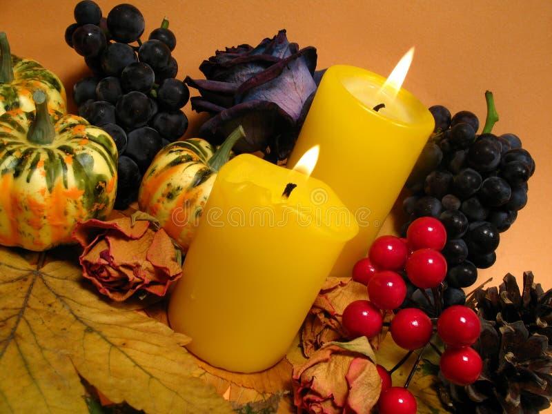 Natura morta di autunno fotografie stock