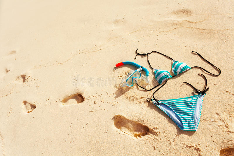 Natura morta di vacanza della spiaggia immagini stock libere da diritti