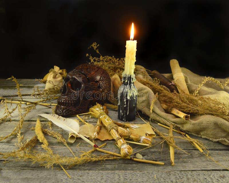 Natura morta 1 di voodoo fotografia stock