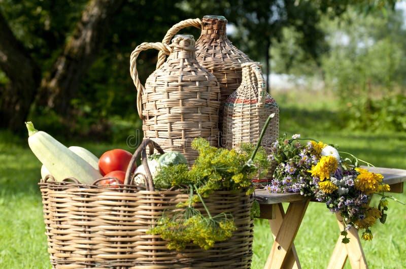 Natura morta rurale fotografia stock libera da diritti