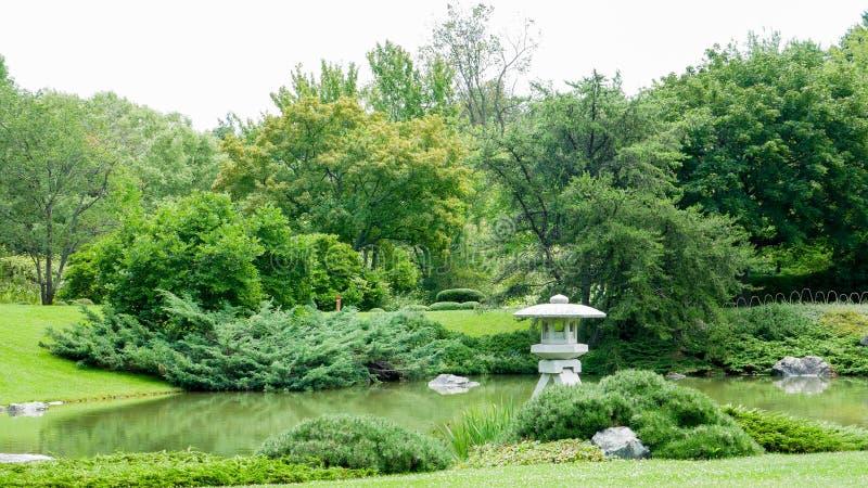 Natura po środku miasta Montreal, Kanada zdjęcia stock