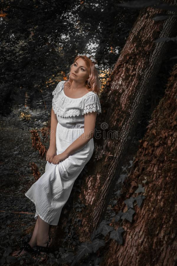 Natura; s panna młoda obraz royalty free