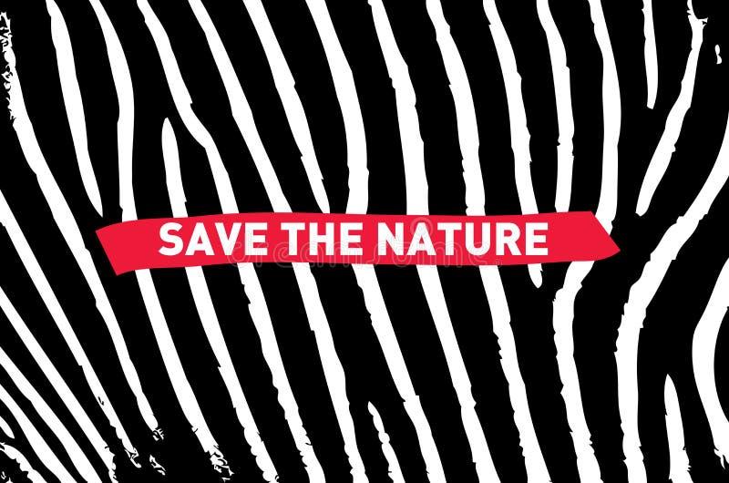 natura save royalty ilustracja