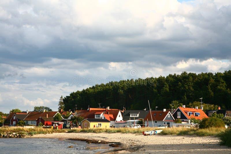Natura in Svezia del sud fotografia stock