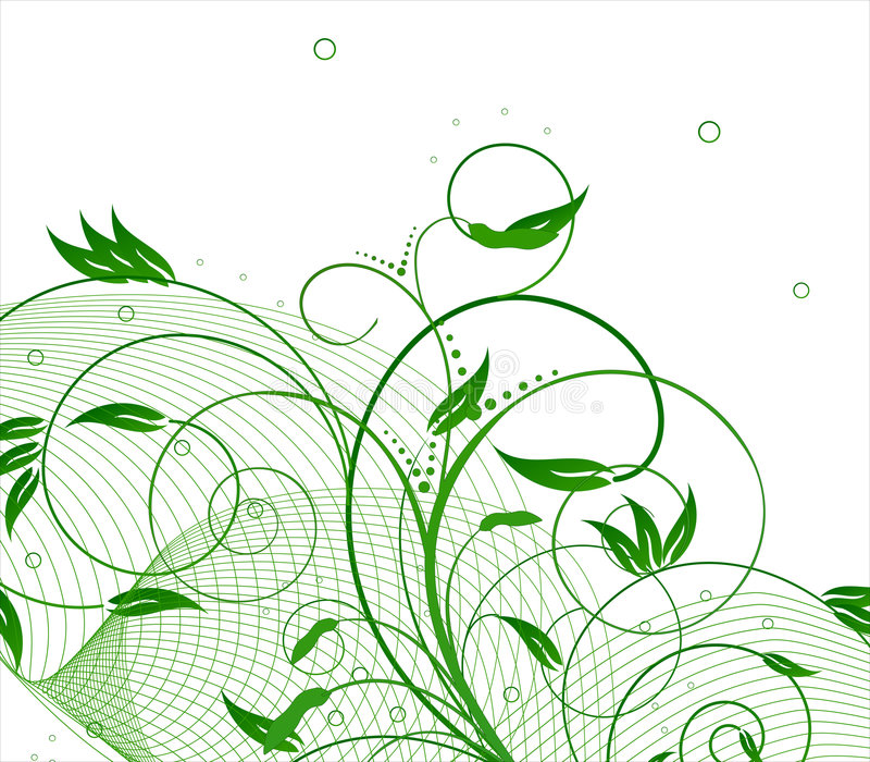 Natura verde royalty illustrazione gratis