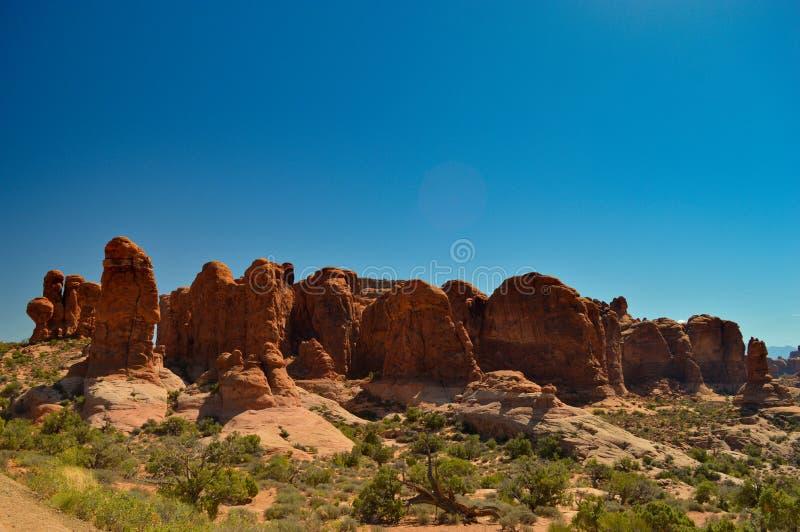 Natura w łuku parku narodowym obrazy stock