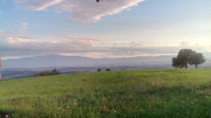 Natura w Bośniackiej wiosce zdjęcia royalty free
