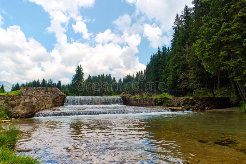 Natura w Bucegi górach, Rumunia zdjęcia royalty free