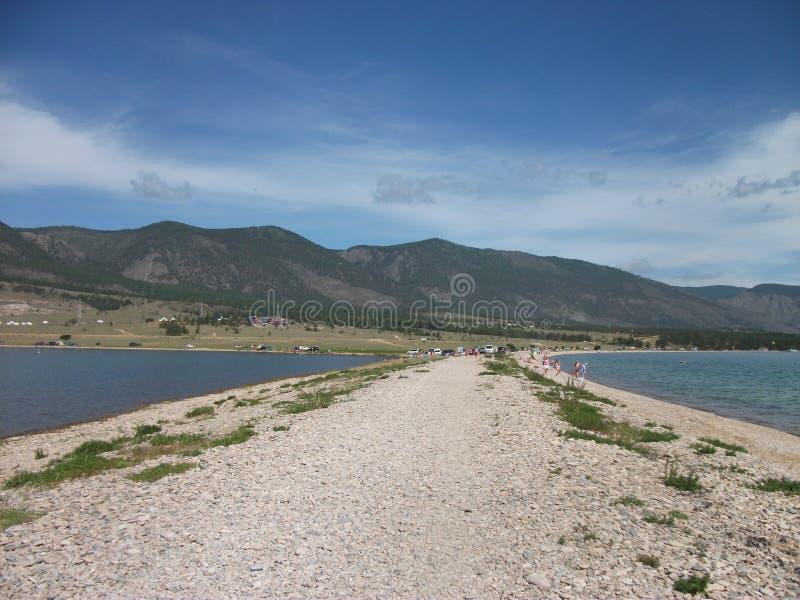 Natura wielki jeziorny Baikal zdjęcia royalty free