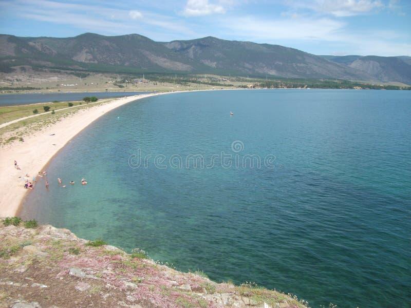 Natura wielki jeziorny Baikal obraz royalty free