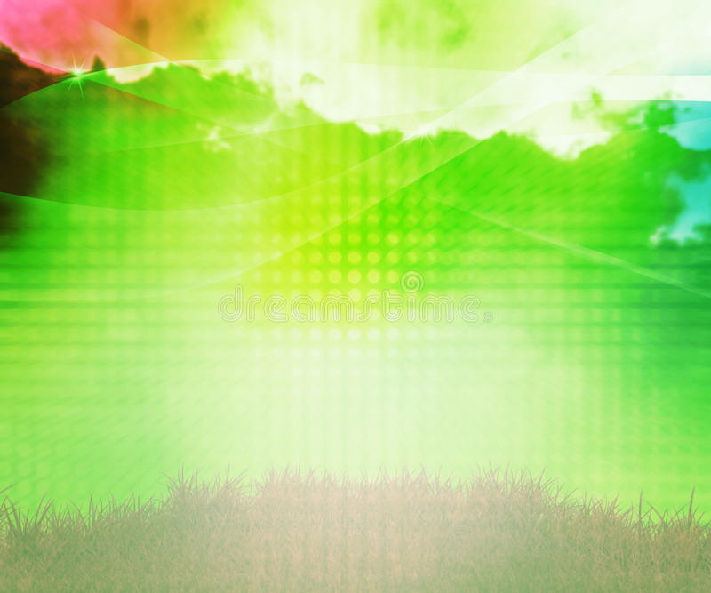 Natural Abstract Background royalty free illustration