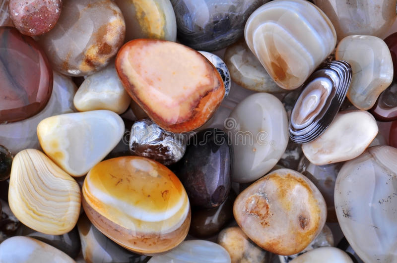 Natural Agate stock image