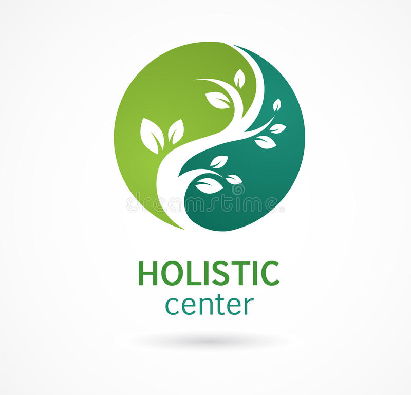 Natural Alternative Herbal Medicine icon vector illustration