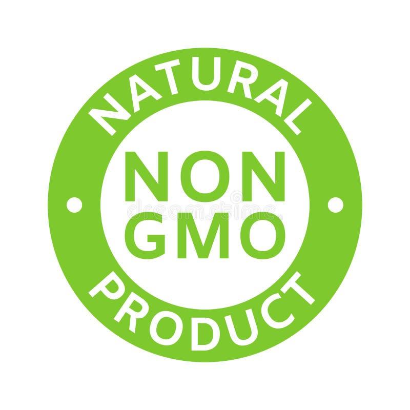 Free Natural And Organic Cosmetic. Non GMO Label. GMO Free Icon. Eco, Vegan, Bio. Healthy Food Concept. No GMO Design Element Royalty Free Stock Images - 217834899