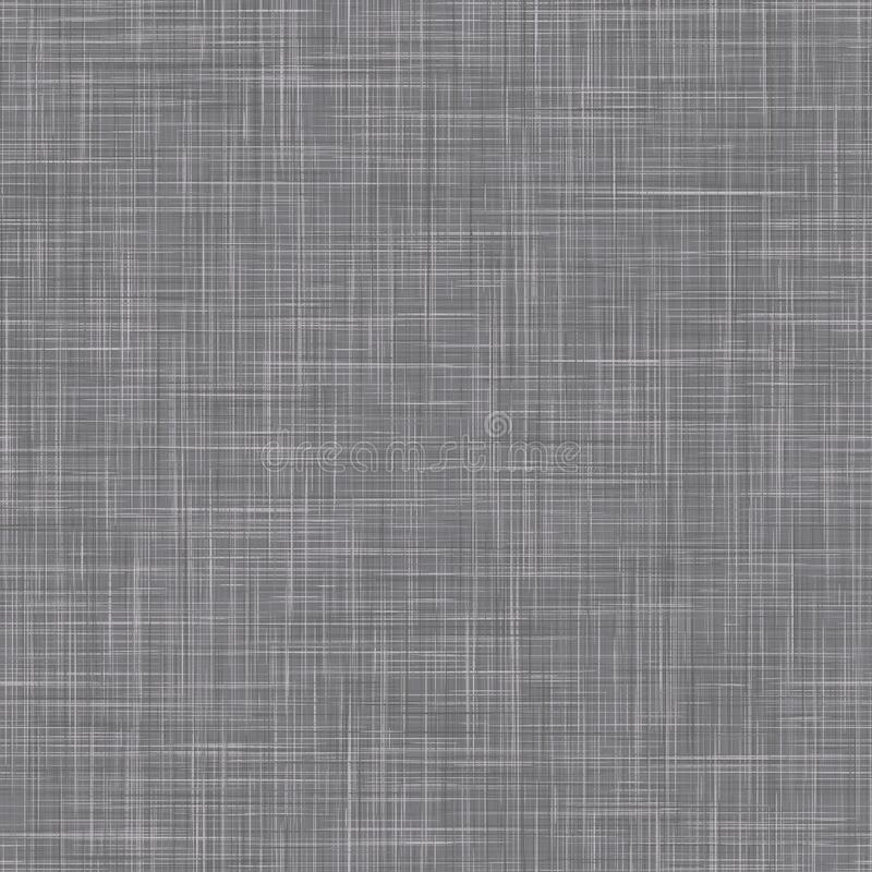 Free Natural Anthracite Gray French Woven Linen Texture Background. Old Raw Flax Fibre Seamless Pattern. Organic Yarn Close Royalty Free Stock Photography - 176300287