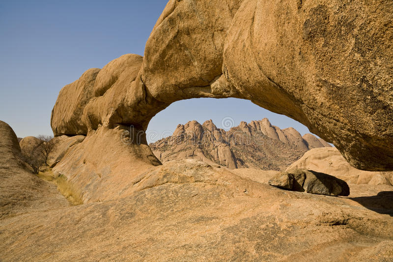 Download Natural Arch stock image. Image of mountain, formation - 13087603