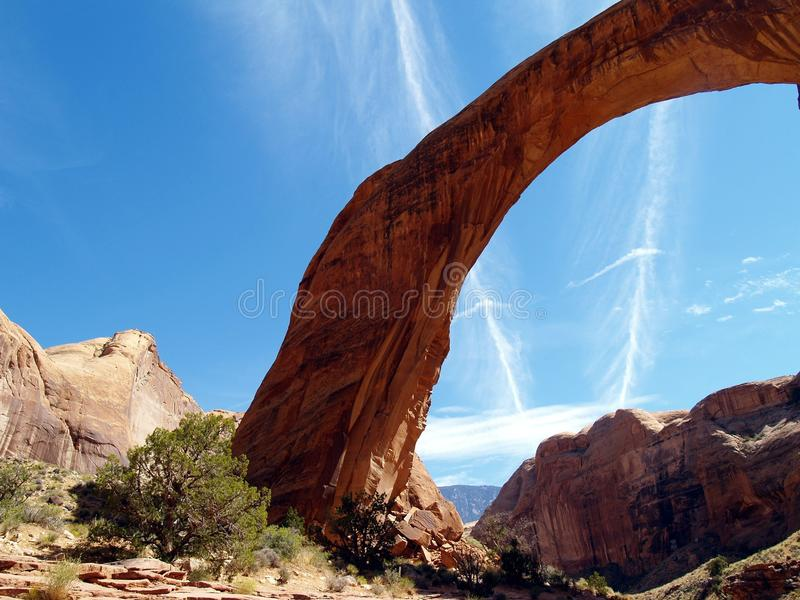 Natural Arch, Rock, National Park, Formation royalty free stock photo
