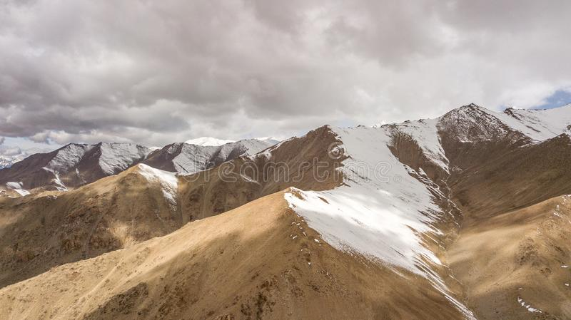 Natural Atmosphere of Leh Ladakh City stock photos