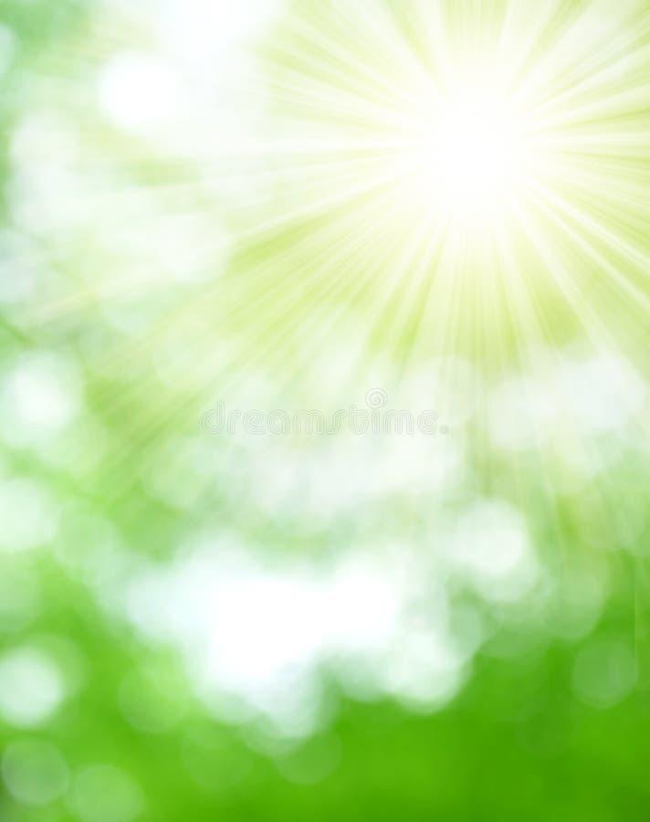 Natural background blurring