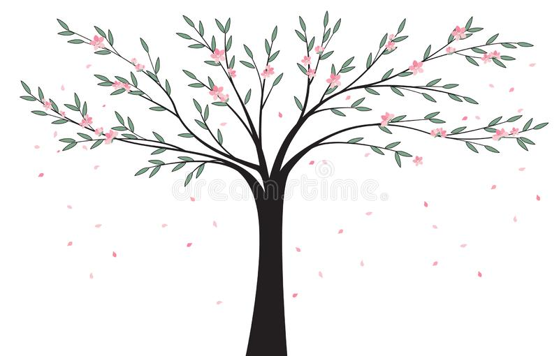 Natural background tree stock image