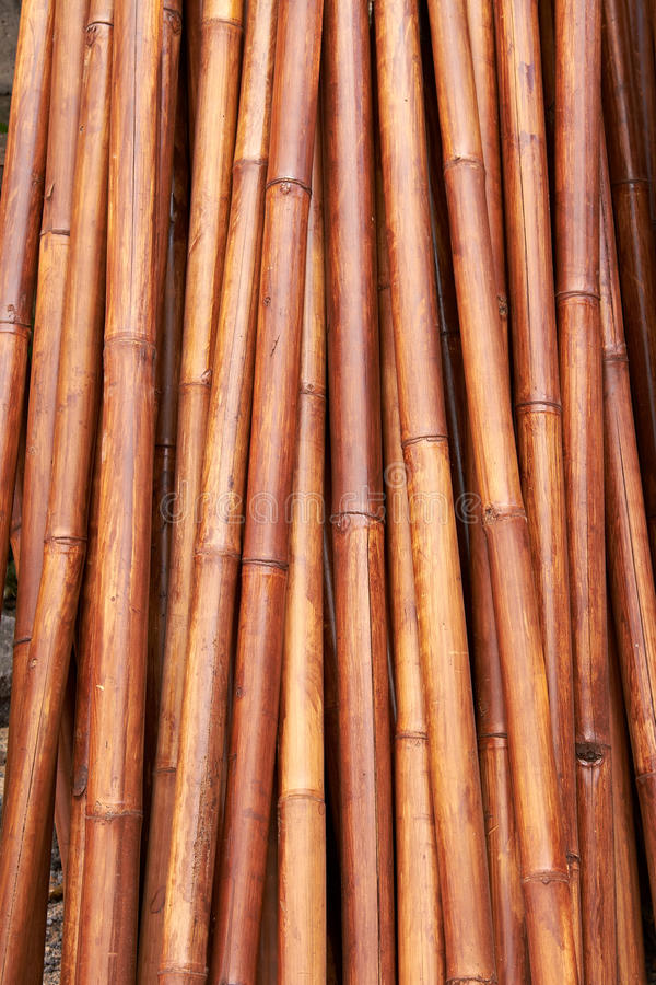 Natural Bamboo Background Royalty Free Stock Image