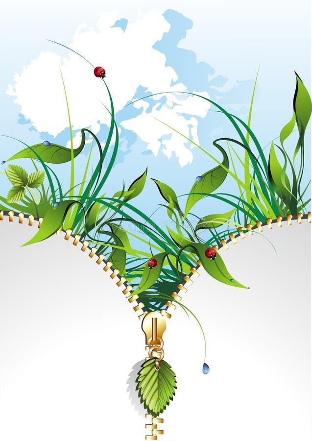 Natural banner stock image
