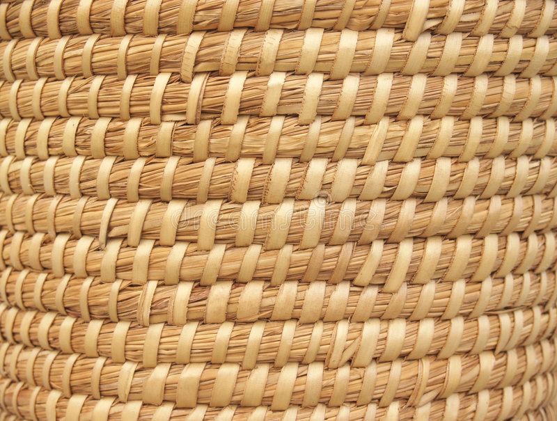 Download Natural Basket-weave Background Royalty Free Stock Image - Image: 6419336