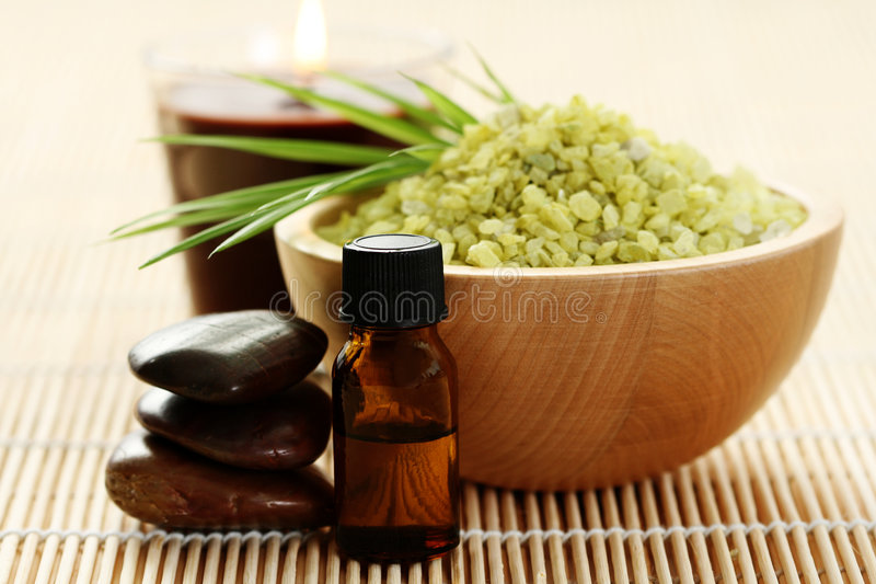 Download Natural bath salt stock image. Image of aroma, aromatic - 7536401