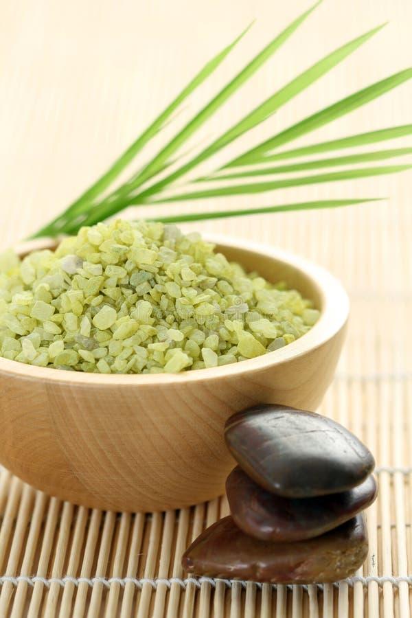 Download Natural bath salt stock photo. Image of freshness, fresh - 7536466