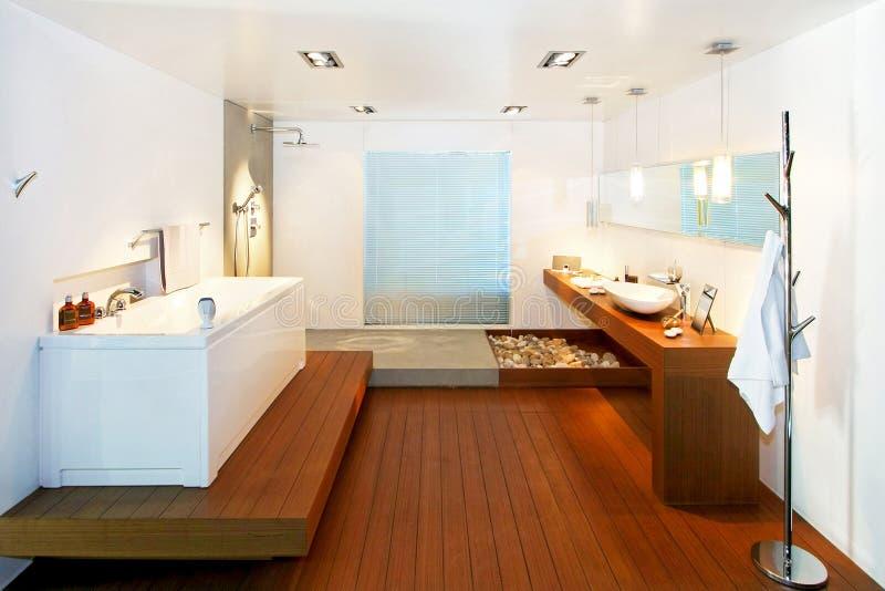 Natural bathroom royalty free stock photos