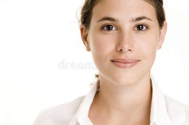 Download Natural Beauty 2 stock image. Image of natural, white, model - 193321