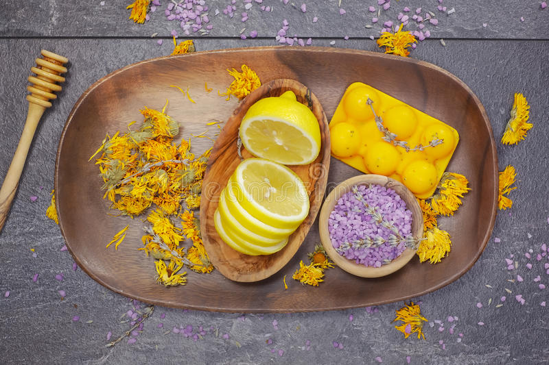 Natural beauty care royalty free stock image