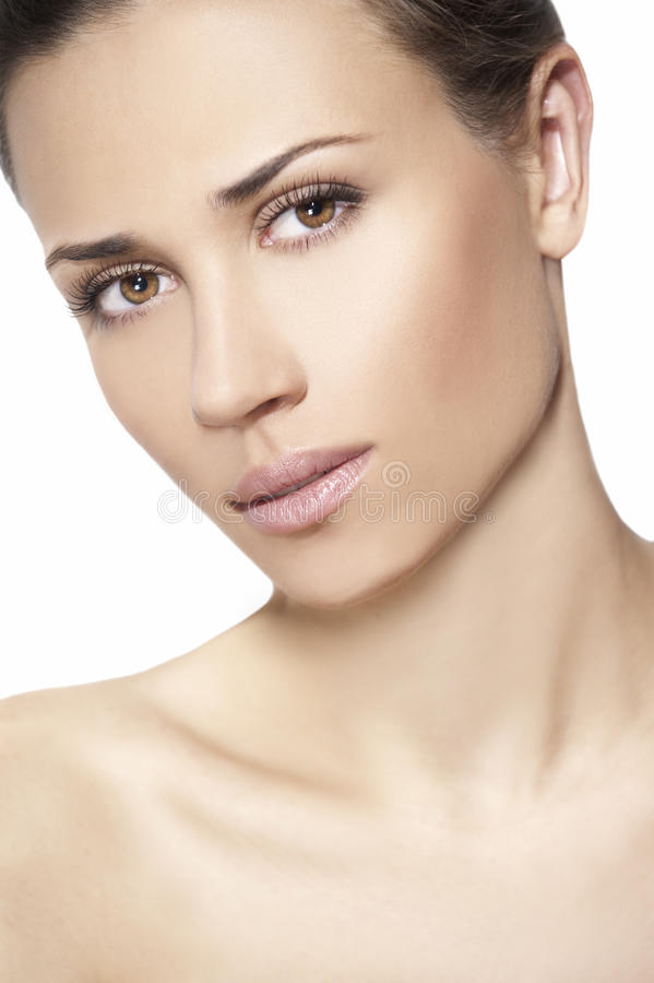 Download Natural Beauty Women In White Background Royalty Free Stock Photos - Image: 17763008
