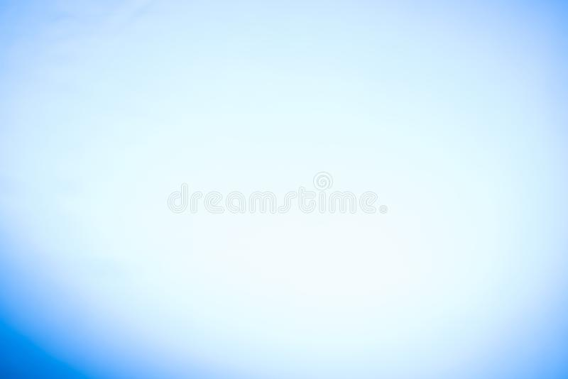 Natural blue blurred background with a dark wreath. Defocus shot. Copy space, design, gradient, abstract, light, color, pattern, website, art, backdrop, effect stock photography