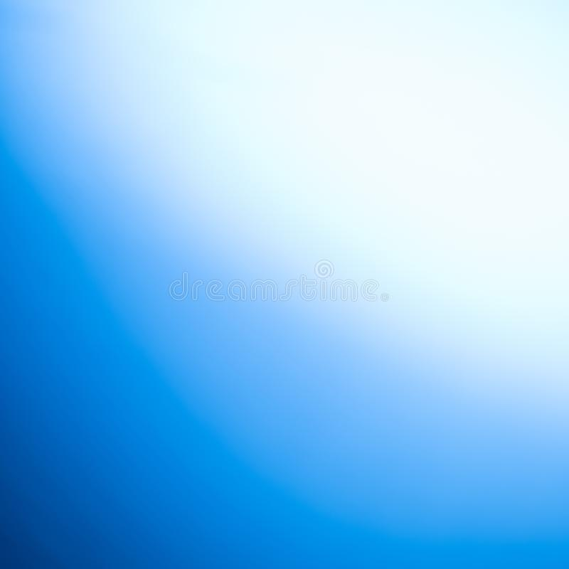 Natural blue blurred background with a dark wreath. Defocus shot. Copy space, design, gradient, abstract, light, color, pattern, website, art, backdrop, effect royalty free stock image