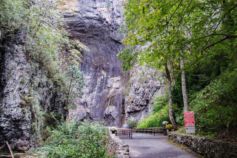 Natural Bridge - Natural Bridge State Park, Virginia, USA stock photos