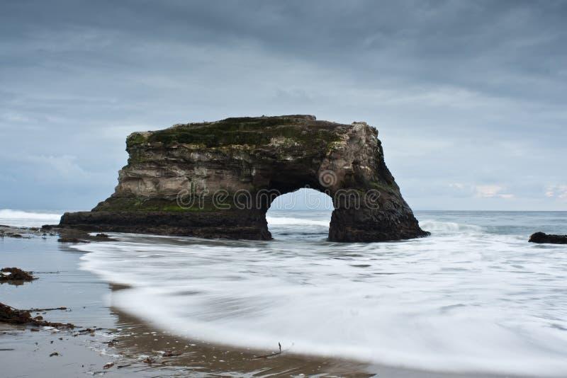 Natural Bridges State Park Santa Cruz California stock images