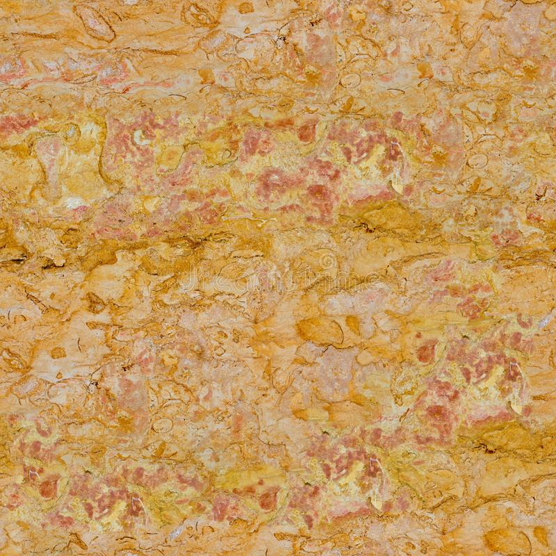 Natural bright orange marble background. Seamless square texture, tile ready. High resolution photo royalty free stock images