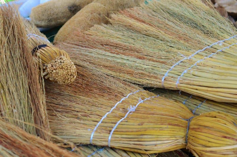Natural Broom royalty free stock photos