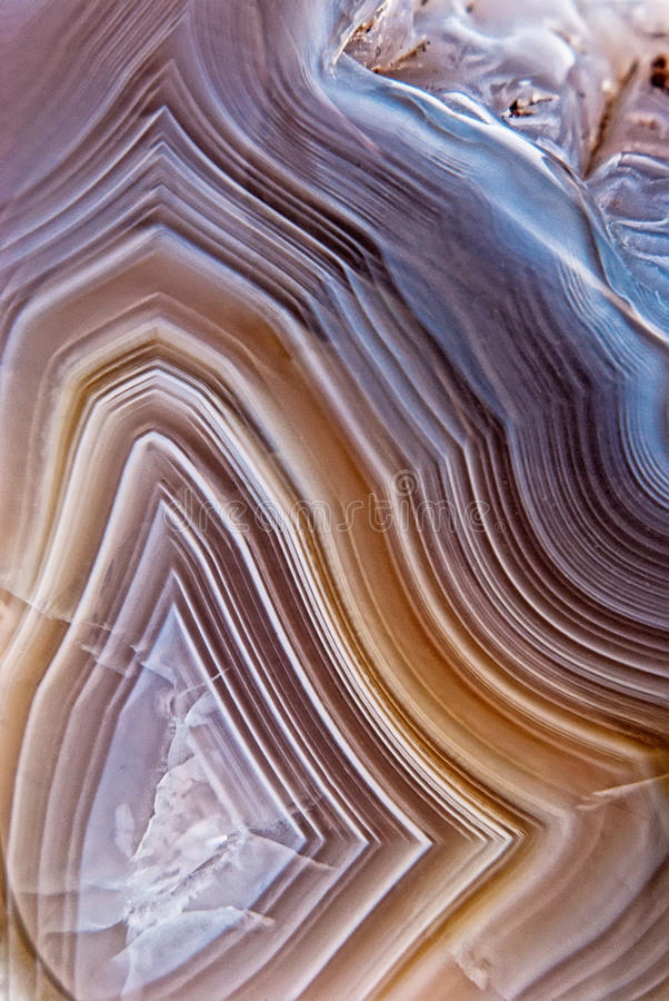 Natural brown agate royalty free stock image