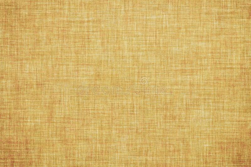 Natural brown colored linen texture or vintage canvas background. Natural brown colored linen texture or grunge vintage canvas background royalty free illustration