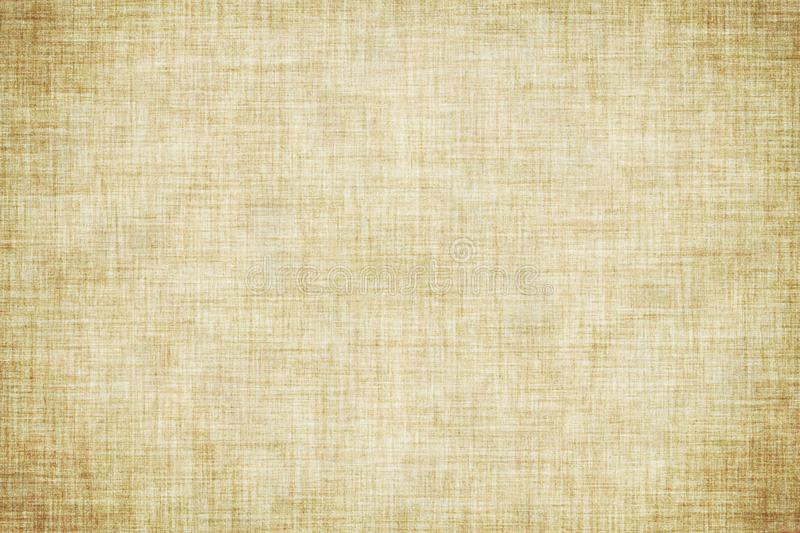 Natural brown colored linen texture or vintage canvas background. Natural brown colored linen texture or grunge vintage canvas background stock illustration