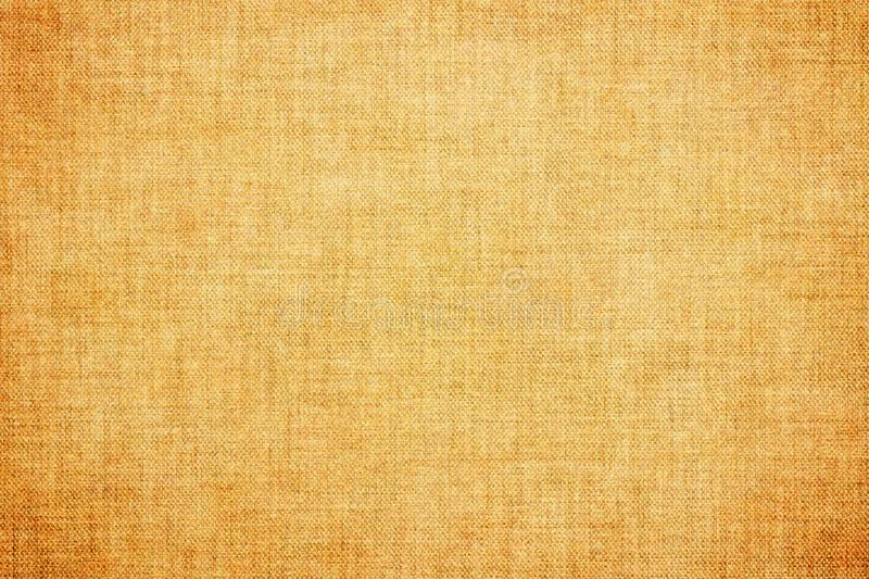 Natural brown colored linen texture or vintage burlap canvas background. Natural brown colored linen texture or grunge vintage burlap canvas background stock illustration
